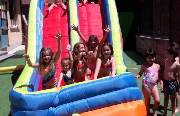 BOUNCY CASTLES AND SUNGLASSES